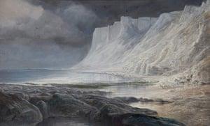 Edward Lear: Beachy Head by Edward Lear