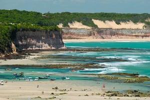 Brazil beaches: Tibau do Sul Pipa beach Rio Grande do Norte Brazil