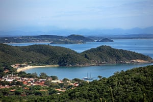 Brazil beaches: praia joao fernandes buzios near rio de janeiro