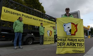 Greenpeace protesters in Germany