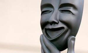 Greek comedy theatre mask