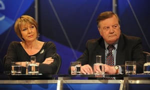 Fern Britton and Kenneth Clarke on Question Time