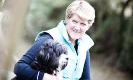 Clare Balding and dog Archie