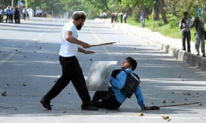 Clashes in Lahore, Islamabad