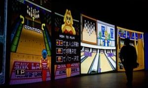 video game art exhibition