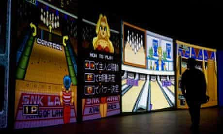 video game art exhibition