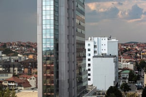 Kosovo art installation: Pristina, Kosovo