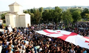 Protest rally in Tbilisi over prison abuse