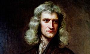 Sir Isaac Newton, aged 46