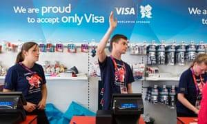 London 2012 Olympic store visa