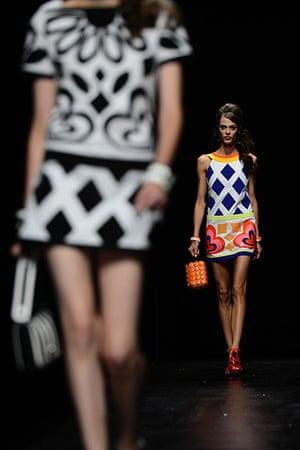 Milan Fashion Week: The Moschino spring/summer 2013 show