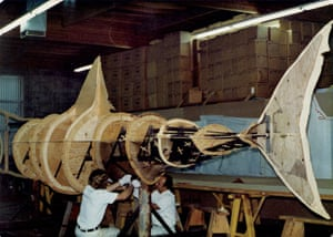 Jaws: Constructing the sharks at Bob Mattey's Sundland, California machine shop
