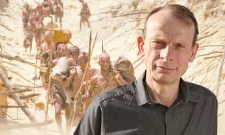 Andrew Marr in a publicity shot for his BBC1 documentary History of the World