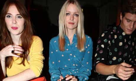 LFW SS2013: Moschino Cheap And Chic Front Row