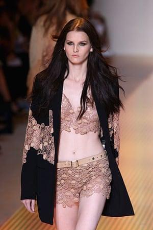 Milan Fashion Week: Versace - Runway - Milan Fashion Week Womenswear S/S 2013