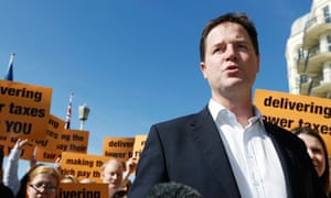 Lib Dem leader Nick Clegg arrives at the party's conference