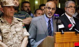 """Head of Libya's national congress Mohammed Magarief said state security forces had agreed to form a """"security operation room"""" which would work to secure Benghazi by dissolving militias not under the control of the government."""