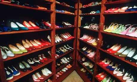 competitive price 672c0 cbc21 Imelda Marcoss shoe collection gathers mould after years of neglect   World news  The Guardian
