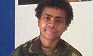 Lance Bombardier Lynette Pearce who had a baby in Camp Bastion
