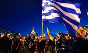 Supporters of the extreme-right Golden Dawn party, Greece