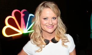 Amy Poehler poses at a pre-Emmy party at Boa Steakhouse in West Hollywood, California.