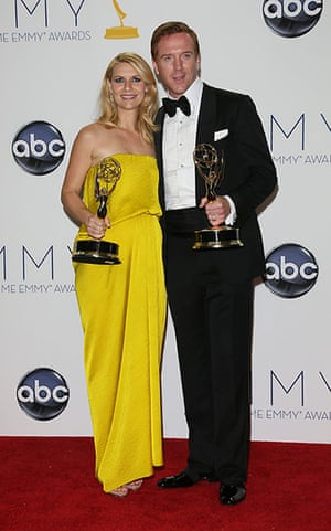 Emmy Awards: Claire Danes and Damien Lewis, who won the Best Actress and Best Actor