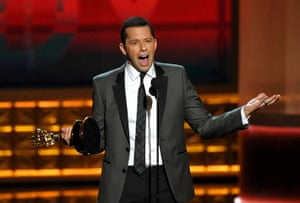 Emmy Awards: Jon Cryer accepts the award for outstanding lead actor
