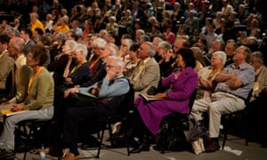The  audience during Danny Alexander's speech.