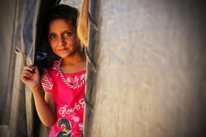 Syria Children: Children make up for nearly two thirds of the Syrian refugees in Za'atari