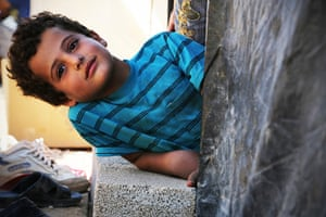 Syria Children: Children make up for nearly two thirds of the Syrian refugees