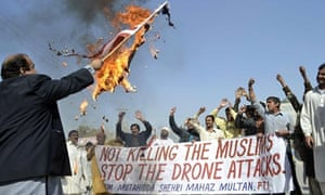 Pakistan protest against drone attacks