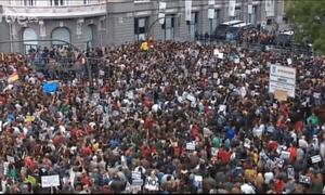 Protests in Madrid, September 25 2012.