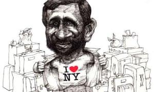 Mahmoud Ahmadinejad cartoon