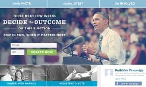 Obama Campaign Register