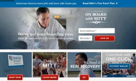 Romney Campaign Register