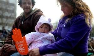 Uruguay set to legalise abortion