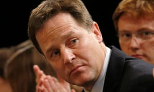 Nick Clegg to tell Lib Dem conference: stick with me in tough times