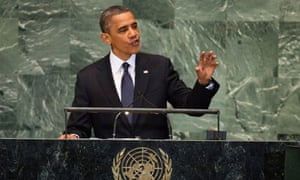 Obama un speech