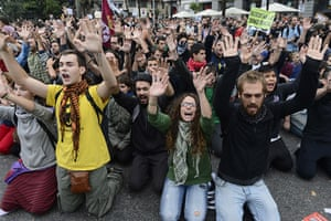 """Madrid update: Spain's """"indignant"""" protesters demonstrate"""