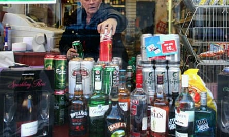 Alcohol on sale in Glasgow