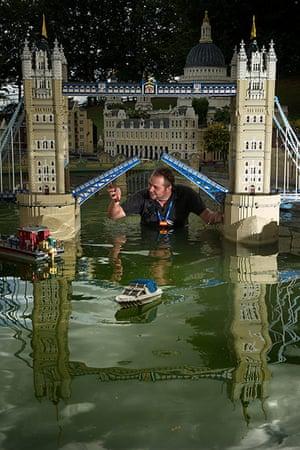 Legoland gallery: Animator Adam Brook gets into the model Thames