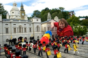 Legoland gallery: Paula Laughton gives Horse Guards Parade a dusting down