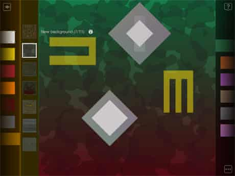 Scape iPad app by Brian Eno and Peter Chilvers