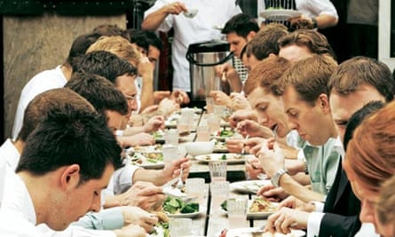 Staff meals: Fat Duck