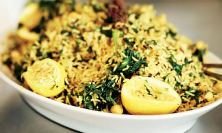 Staff meals: St John curried rice