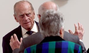 The Duke of Edinburgh tours the Royal Society of Edinburgh.