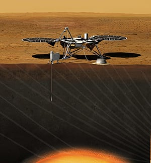 A month in Space: New NASA Mission to Take First Look Deep Inside Mars