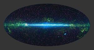 A month in Space: Galaxies Burn Bright Like High-Wattage 'Light Bulbs