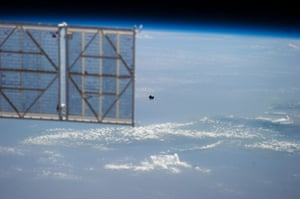 A month in Space: A small ball-shaped science satellite