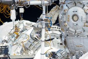 A month in Space: Russian cosmonaut Yuri Malenchenko